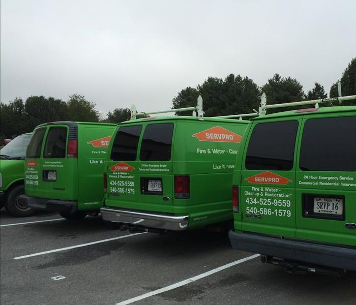 Our Big Green Vehicles