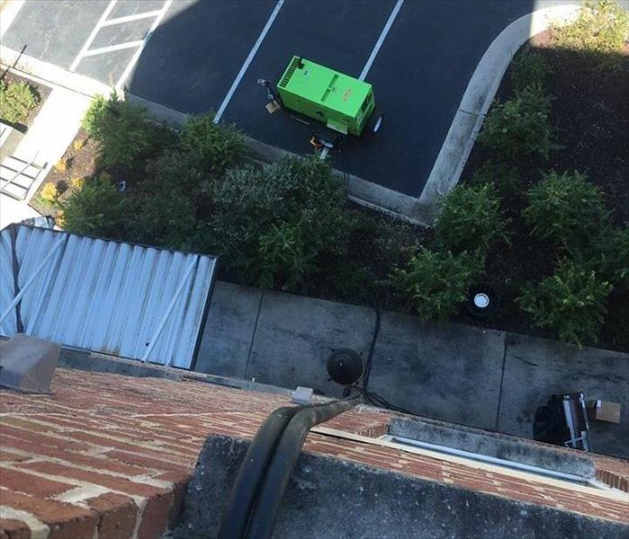 SERVPRO from Bird's Eye View