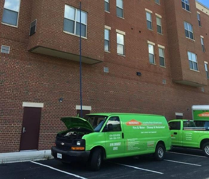 SERVPRO Responding to Fire at Longwood